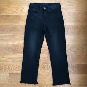 Flying Monkey stovepipe cropped jeans (size: 25)